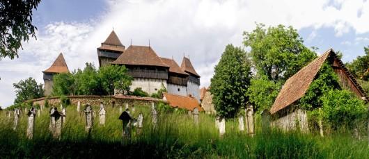 Biserica fortificata de la Viscri, foto: Ovidiu Anca