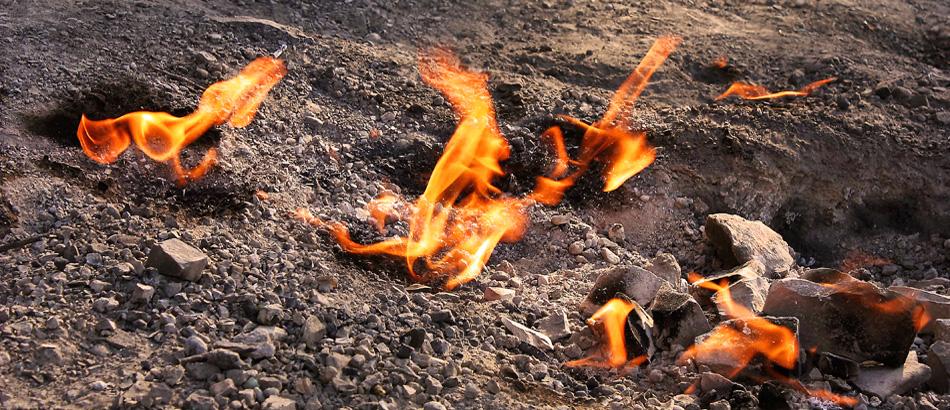 Focurile Vii din Comuna Lopatari, Judetul Buzau