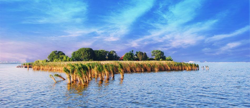 Insula Ovidiu, atractie turistica inedita langa Mamaia